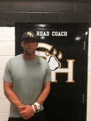 Daniel Duncan is moving to the head coach's office in the Scotts Hill football fieldhouse.