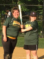 Kathleen McGrath (right) and Wardlaw-Hartridge senior
