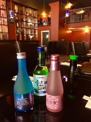 In addition to a wide selection of Sake, the new downtown restaurant also offers Chinese, Japanese and Thai dishes.