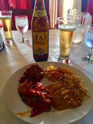 Sharma's Kitchen offers a large selection of traditional Indian dishes.