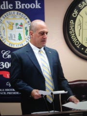 Joseph Camilleri resigned from the Saddle Brook Township