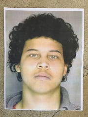 Sean Atkins, 18, is a person of interest in the shooting