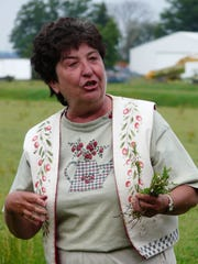 Nodji Van Wychens, a third generation cranberry grower and co-owner of Wetherby Cranberry Co., has worked many years with the Wisconsin Women for Agriculture in an effort to promote cranberries, one of the state's major agricultural commodities.