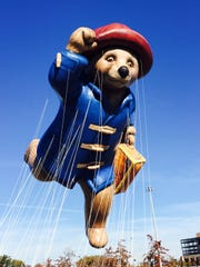 Paddington Bear is one of the new giant balloons in