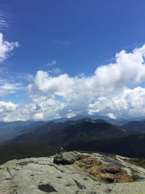 The view from the summit of Mount Marcy, the highest point in New York state, was something writer Daniel Anduze was drawn to witness.
