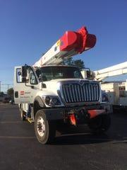 AEP work truck