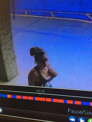 Westland police provided this photo of a woman they say stole a tip jar from a Chinese restaurant on June 27.