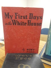 These antique books were found at the Cheatham County