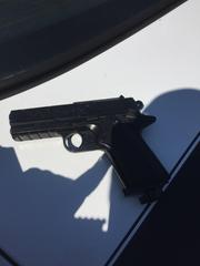 Oxnard Police investigators said the gun Alvarado allegedly