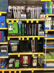 If you can't find a specific item on the school supply