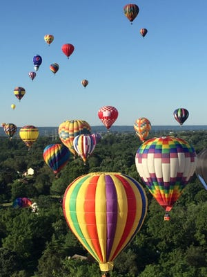 The QuickChek New Jersey Festival of Ballooning at Solberg Airport in Readington is the biggest event that draws tourists to Hunterdon County.