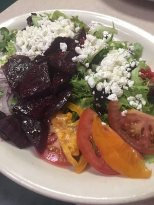 Beet-Nik salad is a mix of flavors at Old Soul Cafe & Catering.