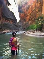 In June 2015, Krissy Rehn got to enjoy the Virgin River