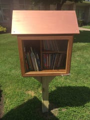 D.C. Everest elementary school students can borrow books anytime from the little libraries installed this summer outside their schools.