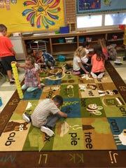 Students at Holy Spirit Catholic School started school