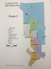 """A slight variation of the """"Purple 2"""" map, which adjusts"""