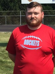 Ridgedale football head coach Joe Roberts