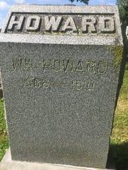 The grave of William Howard, ex-Newark police officer