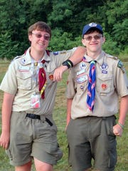 St. Elizabeth Scouts Ryan Haggerty and Jacob Cierniak attended the National Jamboree.