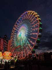 The WonderFair Wheel, which stands 15 stories, returns to the Wisconsin State Fair in 2018.
