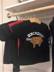 Grindin' Kamyu t-shirt is a best-seller at the Bonita