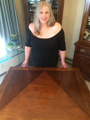 Lynne Jolitz just had her 20-year-old dining room table