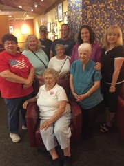 Blue Star Mothers NY8 at a recent social gathering. The organization is one of two nonprofits that will receive the proceeds from the upcoming Pork for Patriots event at McCracken Farms in Sweden.