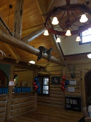 The Seattle Children's Pediatric Cardiology of Montana has a rustic theme.
