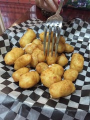 The Wisconsin cheese curds at Cell Block 104 disappeared
