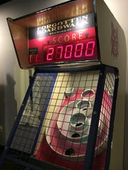 Fans of SkeeBall have an added reason to visit Forgotten Boardwalk. A portion of the proceeds from the machines go to charity.