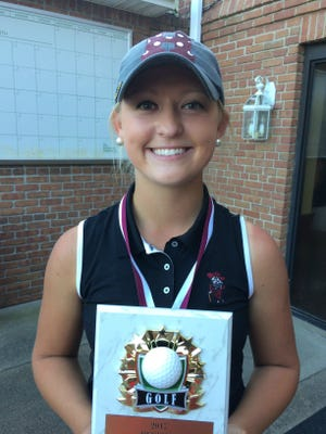 Henderson County senior Payton Carter won the individual championship in the Girls Second Region Tournament Tuesday at Henderson Country Club