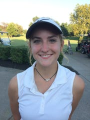 Union County sophomore Sarah Hagedorn qualified for the state tournament in Tuesday's Second Region Tournament at Henderson Country Club.