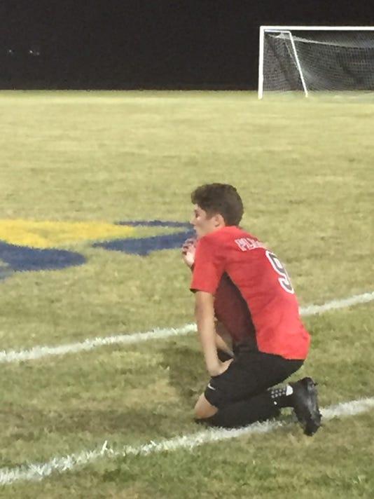 Pleasant boys soccer Logan Thompson