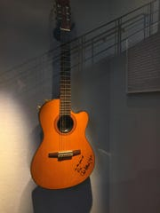 Kix Brooks donated this guitar autographed by Chet