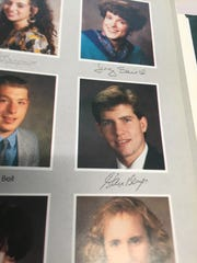 Steve Berger's senior picture in the 1991 Wauwatosa West High School yearbook. Berger was killed during the mass shooting in Las Vegas.