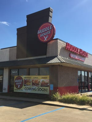 The location of a soon to open Huddle House on South MacArthur Drive.