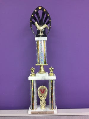 The Daily Journal Homecoming Best Float Trophy
