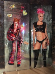 Both David Bowie and Pink got the royal treatment from