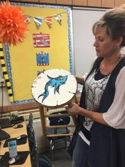Chief Joseph Elementary librarian Tara Murillo asked