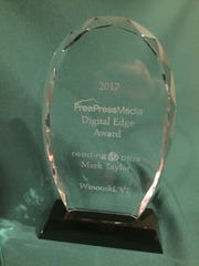 The Free Press Media Digital Edge Award was presented to Reading Plus.