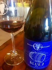 At Beneduce Vineyards in Pittstown, owner Mike Beneduce, Jr., is having a lot of success with Blaufrankisch, an Austrian grape that creates beautiful blue/black, food-friendly wine.