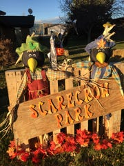 Check out Scarecrow Park in White Sulphur Springs.
