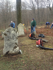 Members of the Friendly Sons of Saint Patrick of Morris County have enlisted other community groups in their efforts to restore and provide upkeep for St. Patrick's Cemetery in Hibernia.