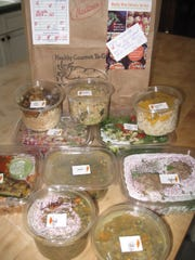 A selection of foods from Healthy Gourmet to Go can be delivered to your doorstep.