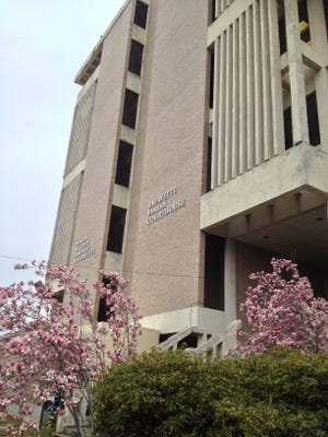 Property tax renewals for the Lafayette Parish courthouse and jail are on Saturday's ballot in Lafayette Parish.