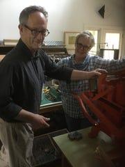 Fink and Marsh printing press.