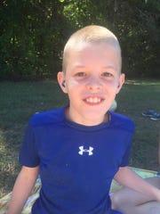 Gallatin 13-year-old Justin Cline is raising money
