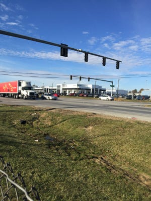 The intersection of Ohio 32 and Bach Buxton Road/Elick Lane will eventually be eliminated and a new interchange constructed in the area.