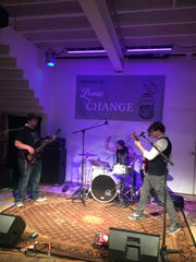 Goat City performs at the Space Jam showcase presented by Loose Change Productions on December 2, 2017 in Jackson, Tenn.
