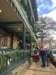 Lambertville House Restaurant on the Sister Cities Food and Shop Tour.